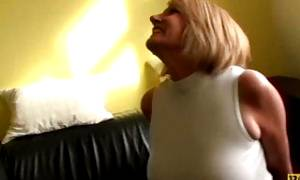 PASCALSSUBSLUTS – English MILF cuffed and pussy destroyed